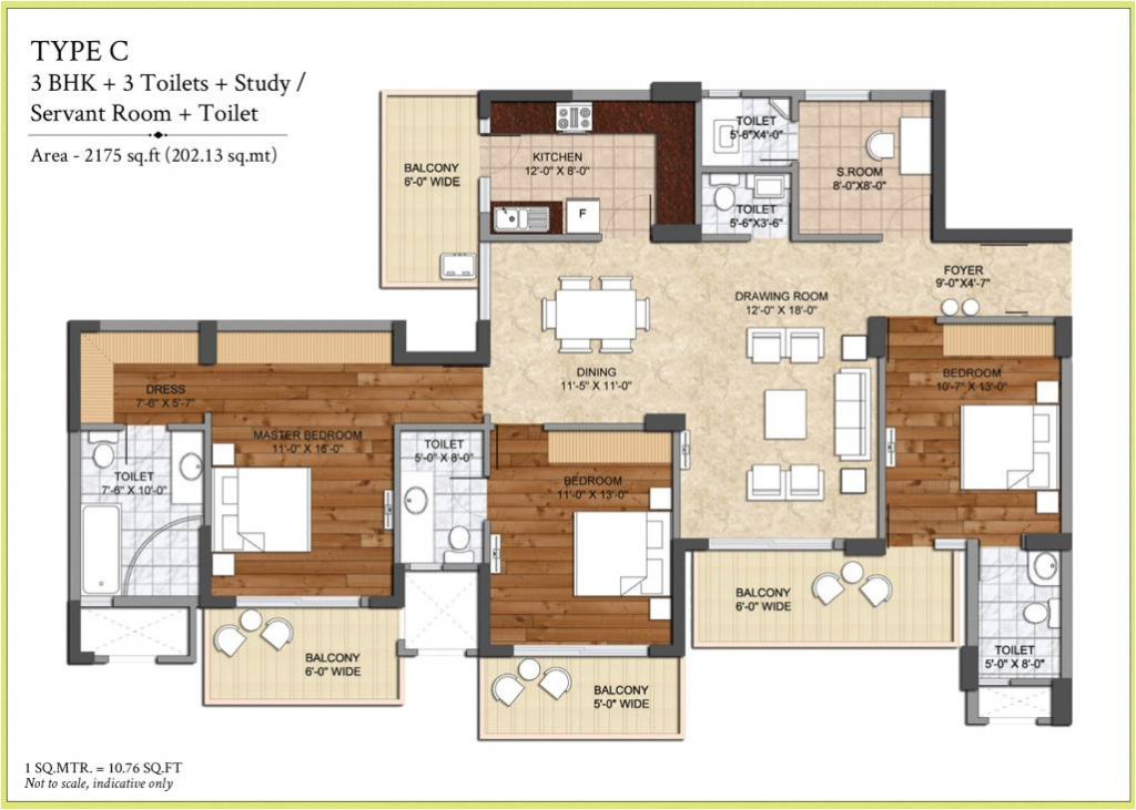 Ashiana the center court sector 88a dwarka expressway for 11 brunel court floor plans